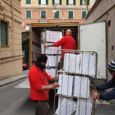 Trasloco Uffici dell'Agenzia delle Entrate di Genova