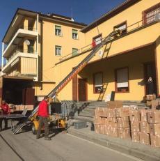 Trasloco della Caserma Carabinieri